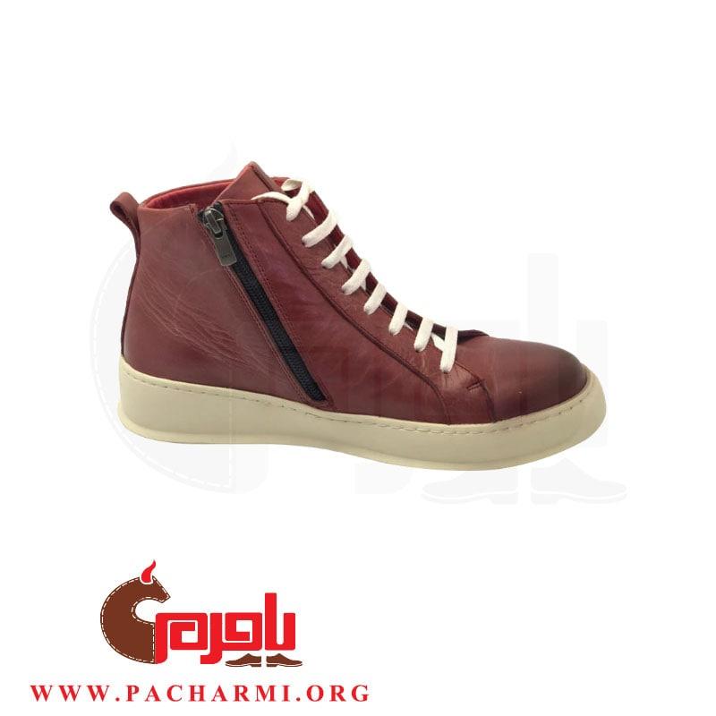 Pacharmi-half-boot-Matiki-Red-2