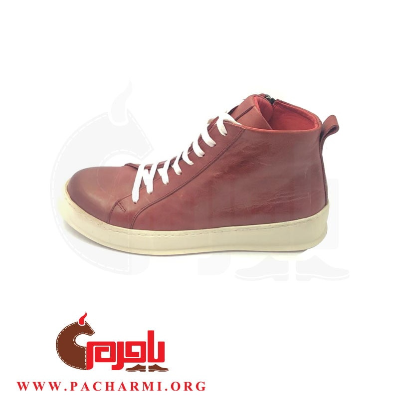 Pacharmi-half-boot-Matiki-Red-3